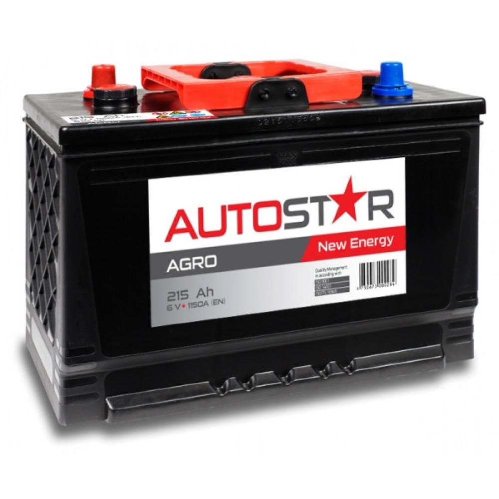 AUTOSTAR AP21501 AGRO 6V/215Ah/1150A 334x175x240