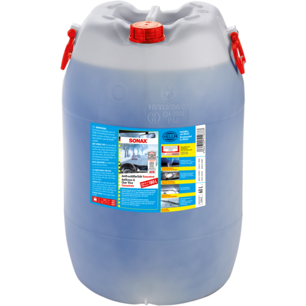 SONAX AntiFreeze & ClearView Concentrate <1:2 (60l.)